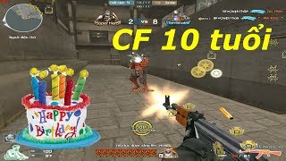 [ Bình Luận CF ] AK47-10th Anniversary - Tiền Zombie v4