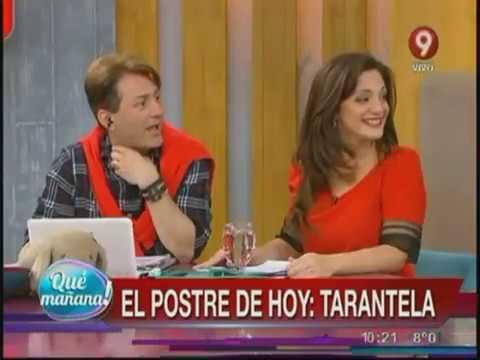 El postre de hoy: Tarantela