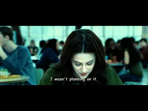 twilight - first meet  bella and  cullens  - school scene with subtitle, twilight - first meet bella and cullens - school scene edward bella emmet rosalie alice jasper cullen , high quality video and sounds and subtitle ... jasper...