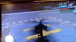 Hidden Hunter Helicopter In GTA Liberty City Stories PSP