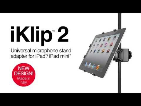 iKlip 2 for iPad/iPad mini - Global Positioning for iPad on stage and in the studio
