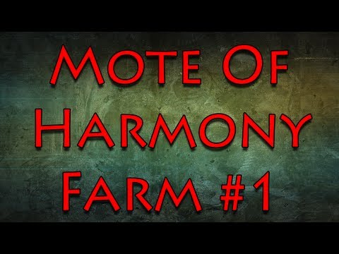 Mote Of Harmony Farming Guide 40+ Per Hour - YouTube