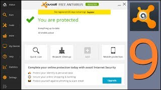 AVAST 2014 V.9 FREE Antivirus Install And Settings