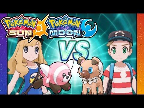 Pokemon Sun and Moon - 3DS Gameplay Walkthrough PART 20 - Rival Battle VS Dani - Stufful - Pelago