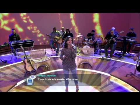 Aline Barros canta Coração de Mãe no Encontro com Fátima Bernardes 2013 [Portal AB]