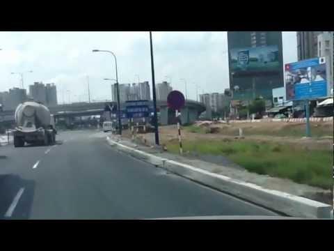 Bắn tốc độ 30 km/h dưới cầu vượt Cát Lái, Xa lộ Hà nội, Q.2
