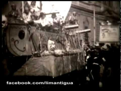 VIDEO - LIMA ANTIGUA - 1930 - Carnavales