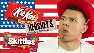 Canadians Try American Snacks