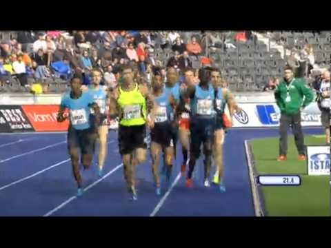 Ethiopian Videos - Mohammed Aman  Wins 2013 IAAF World Challenge Berlin men 800m