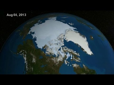 Dramatic Images of Disappearing Ice