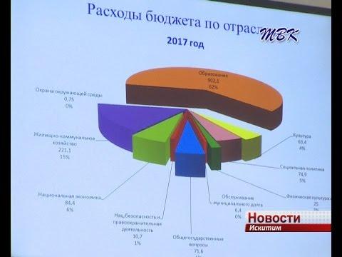 В Искитиме принимается бюджет на  будущий год