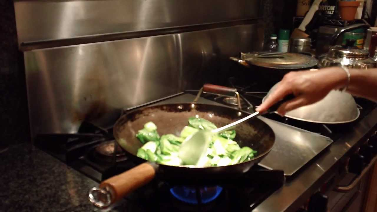 How To Stir Fry Baby Bok Choy Chinese Restaurant Style