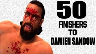 WWE '13 50 Finishers To Damien Sandow