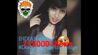 Don't judge me challenge India