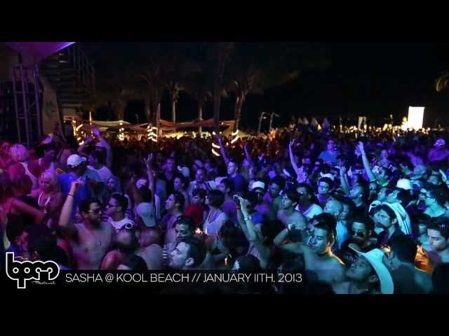 THE BPM FESTIVAL 2013: Sasha @ Kool Beach