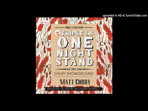 Matt Corby - My False - One Night Stand 2012
