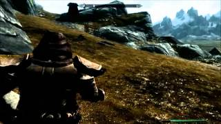 SKYRIM- Secret Chest And WOLF ARMOUR And Money