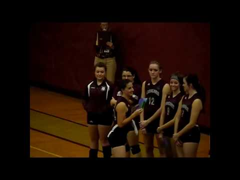 NCCS - Lake Placid Volleyball 10-24-12