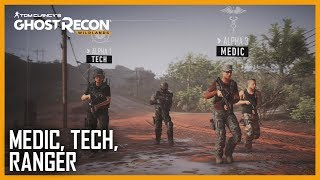 Ghost Recon Wildlands - Ghost War Classes Trailer #3