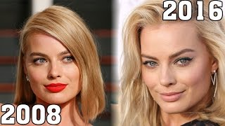 Margot Robbie (2008-2016) all movie list from 2008! How much has changed?Before and After!Wolf Naomi