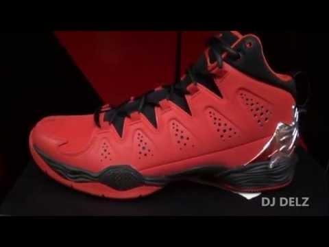 Where is Carmelo Anthony & Lebron James Going? Look at the Jordan Melo M10 Varsity Red Shoe