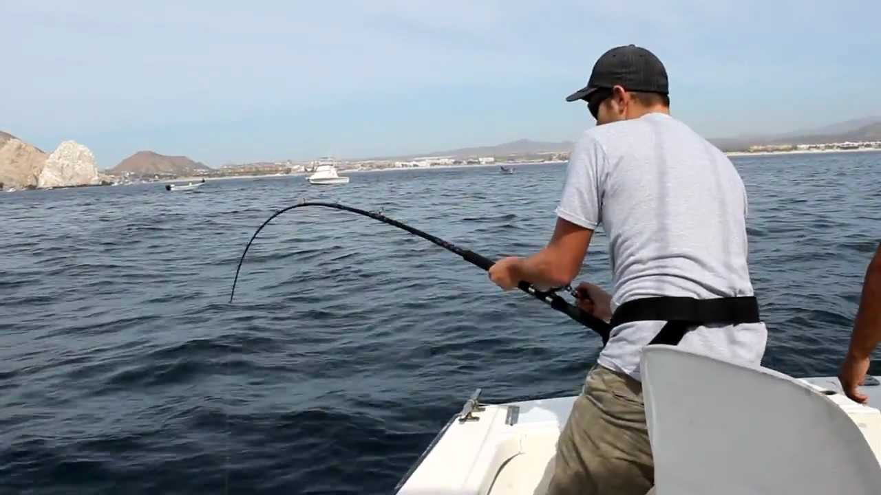 Deep sea fishing in cabo san lucas mexico jordan youtube for Deep sea fishing mexico
