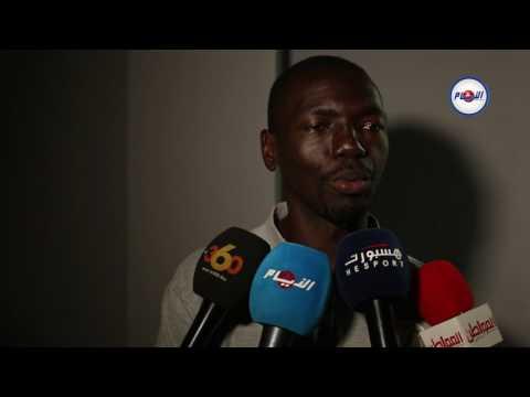 مدرب القطن الكاميروني و جمهور الوداد
