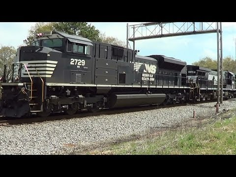 NS Train 69X Stepping North 4 3 2014