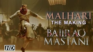 IANS : Malhari- The Making with Ranveer Singh -Bajirao Mastani