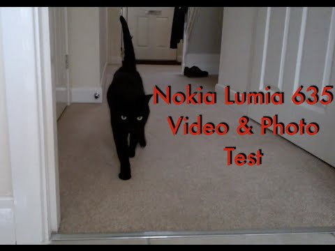 Nokia Lumia 635 Video Test