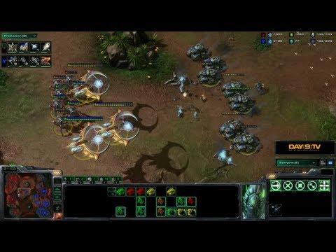 HoTS. Battle Report 3: PvT