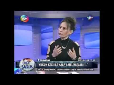 Küçük kesi ile kalp cerrahisi- Ege TV 01.02.2016