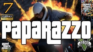 GTA V Paparazzo Strangers and Freaks Mission EP7 #GTAV Part 7 Let's Play Walkthrough HD 1080p