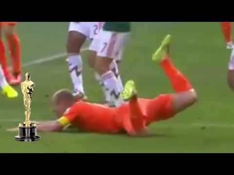 Arjen Robben Dive duiken tirarse de cabeza Netherlands Mexico World Cup