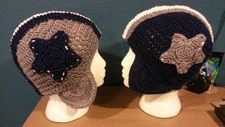 Tutorial How To Crochet Dallas Cowboys Football Helmet
