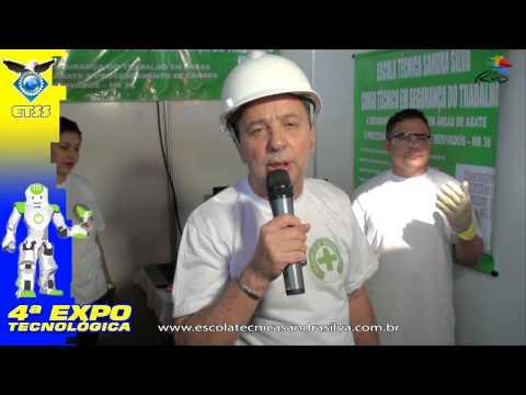 4ª EXPO -Escola Técnica Sandra Silva -segurança do trabalho -ABATEDOURO E FRIGORÍFICO