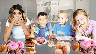 LAST to STOP EATING Donuts!