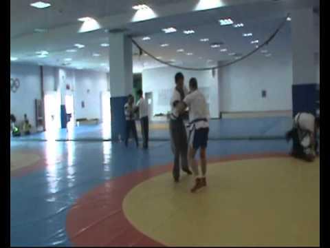 Wrestling Sparing, Shanghai University of Sport (Part 1)