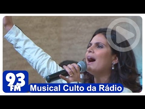 Aline Barros - Musical Culto da Rádio - Casa Do Pai
