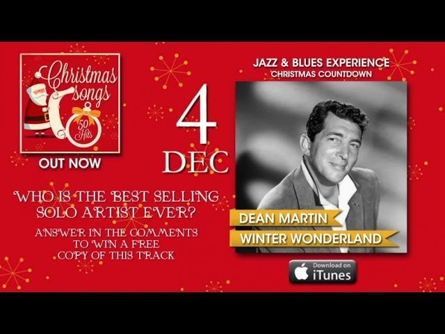 Christmas Songs - Advent Calendar - 4th December (Dean Martin)
