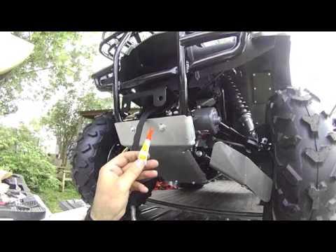 2013Honda Rancher 420, Warn XT25 winch