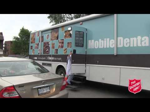 Dental Bus Partnership Provides Services to Women's Shelter