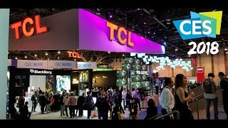 CES 2018 TCL 4k HDR TV Line up The new P-Series (R6) and 8 Series
