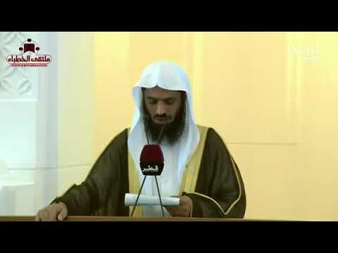 دور كل فرد في نصر الأمة / د. محمد الهبدان ( عضو رابطة علماء المسلمين )