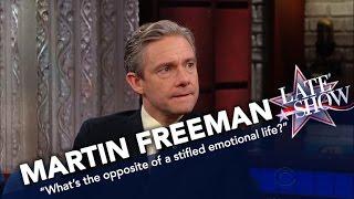 Martin Freeman Is Not Turned Off By Racy 'Sherlock' Fan Art
