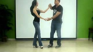 Aprende a bailar salsa. Lazo y vuelta doble