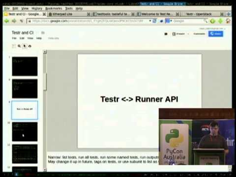 Image from Testtools and Test Repository - the Python test frameworks OpenStack uses