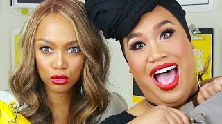 WHATS IN MY BAG WITH TYRA BANKS | PatrickStarrr