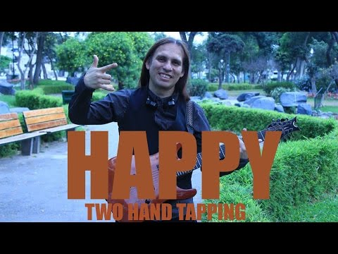 PABLO BOBADILLA RIDER - HAPPY (PHARRELL WILLIAMS) TWO HAND TAPPING ARRANGEMENT