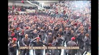 Corpo de Bombeiros forma novos soldados em Minas